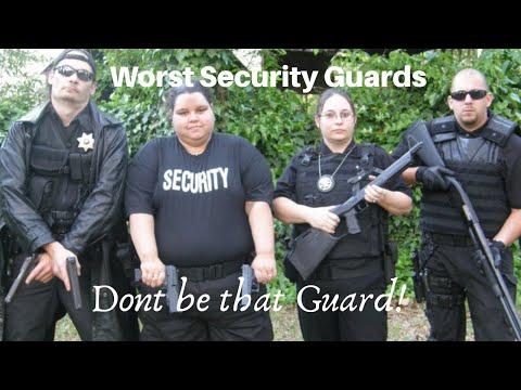 Security Guards: Top 5 Worst