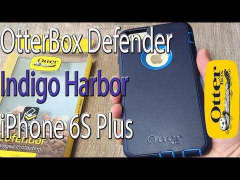 iPhone 6S Plus: OtterBox Defender Series Case | Indigo Harbor