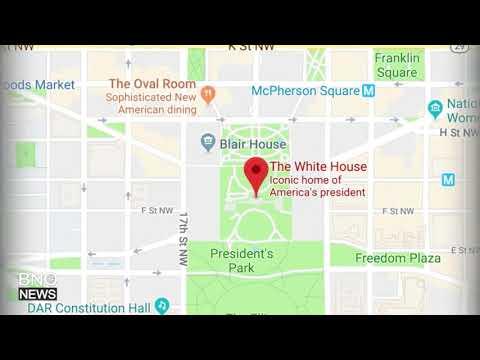 Car Strikes Security Barrier Near the White House