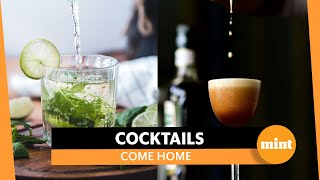 The year of mixing cocktails at home
