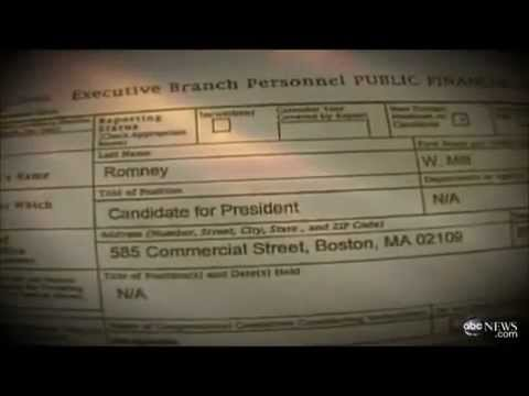 Mitt Romney avoids U.S tax by using Offshore bank accounts