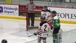 PIHL Semifinals Hockey Highlights of South Fayette vs Meadville