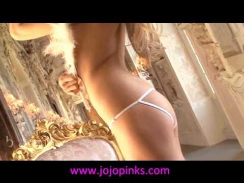 Baci Lingerie White Open Back Crotchless Lace Panty By JoJoPinks.com