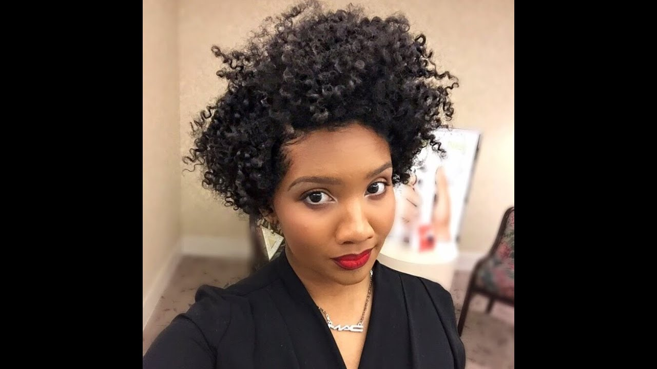 Tapered Natural Hair Styles: Twist Out On Tapered Natural Hair