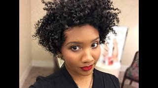 Twist Out On Tapered Natural Hair
