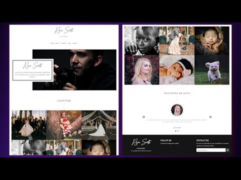 Build a Responsive Personal Portfolio Website | Bootstrap 4 Tutorial thumbnail