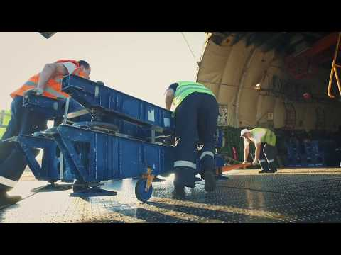 Industrial project logistics - Antonov 225 - Bolloré Logistics