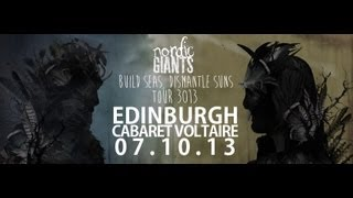 Nordic Giants - Live at the Cabaret Voltaire, Edinburgh October 7, 2013 FULL SHOW HD