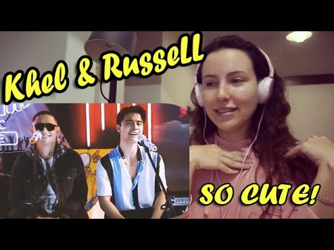 Khel Pangilinan x Russell Reyes - Maroon 5 - Girls Like You  REACTION