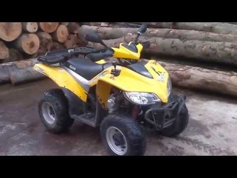 My atv SYM truck runner 200