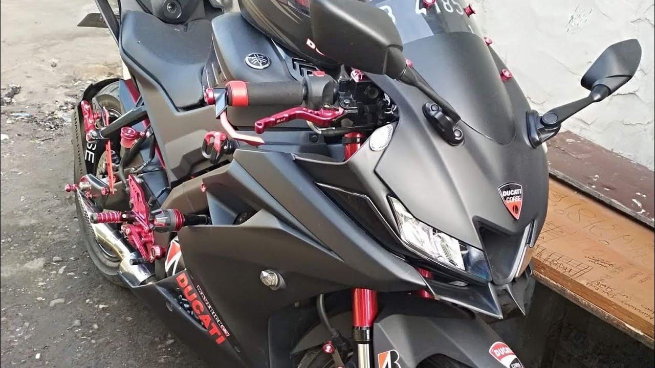 2018 Yamaha YZF-R15 V3-0 Modified Matte Black Update India Launch Date