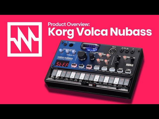 KORG Volca Nubass: The New Acid Bass Machine