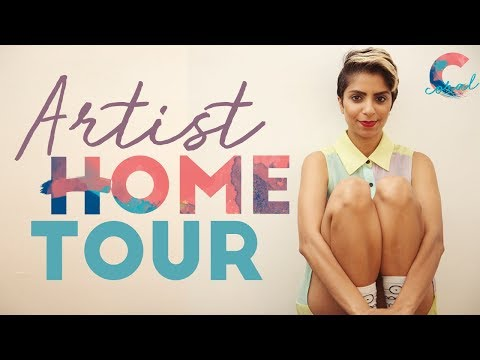 Tour an Artists Eclectic Home | This Is Home.