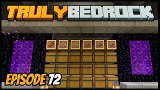 Mob Farm Auto Storage And Work! - Truly Bedrock (Minecraft Survival Let's Play) Episode 72