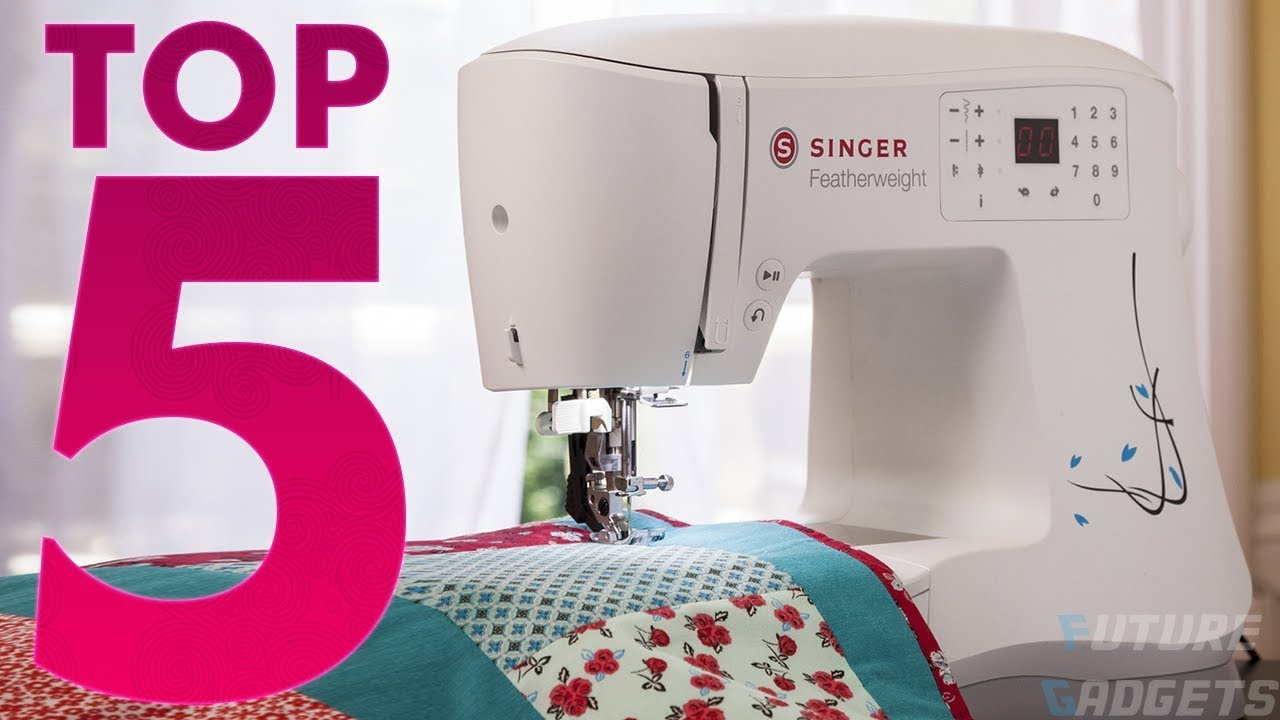 TOP 5 Best Portable Sewing Machines to Buy in 2019 ☑️ ...