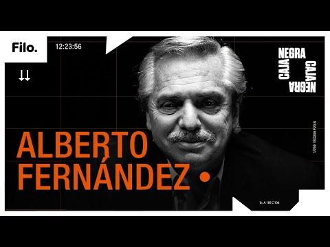 """Alberto Fernández: """"Cristina Kirchner confió en mí y jamás la voy a defraudar, jamás""""   Caja Negra"""