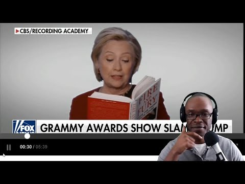 The 2018 Grammy's Recap:  Hillary Clinton Reads Us a Bedtime Story From Fire & Fury Book