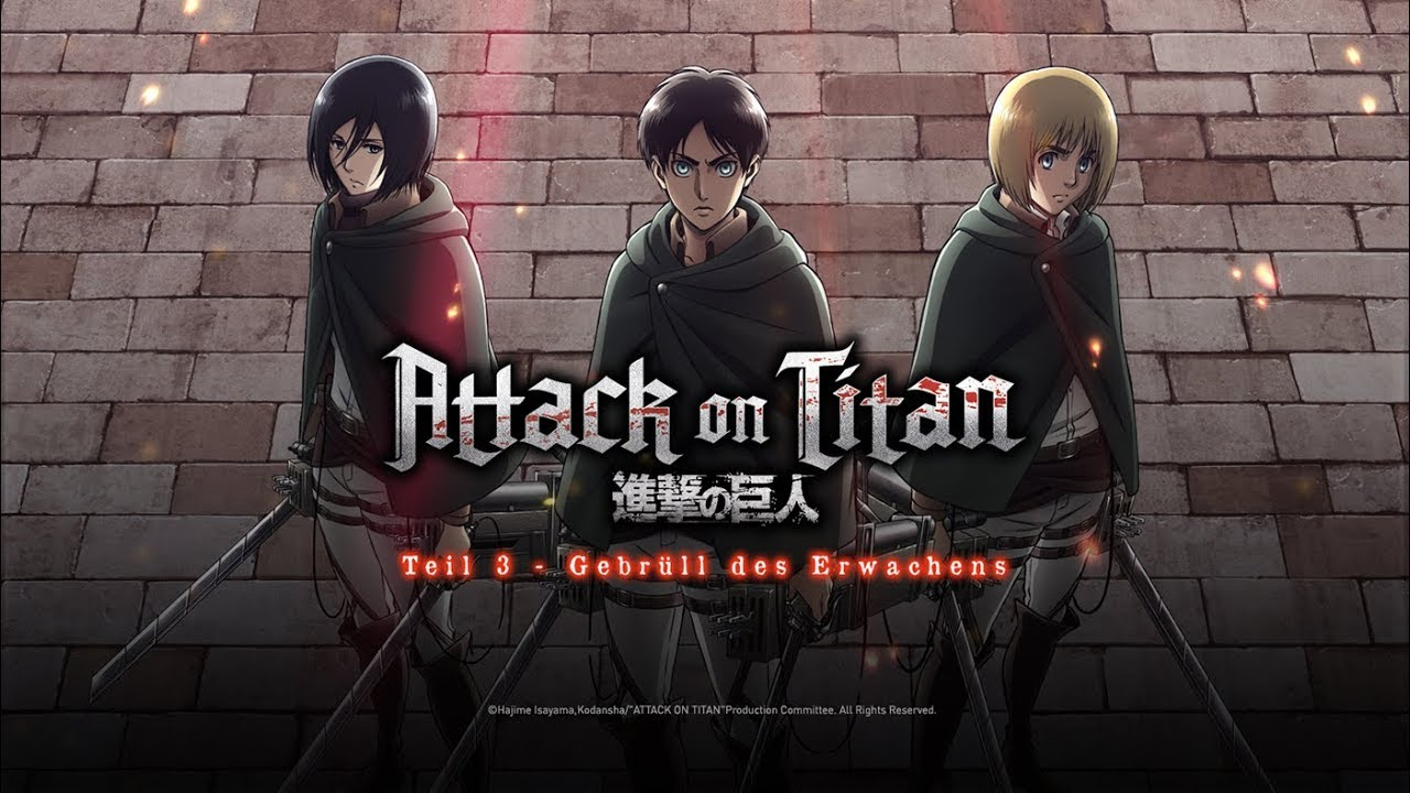 Attack On Titan - Gebrüll Des Erwachens