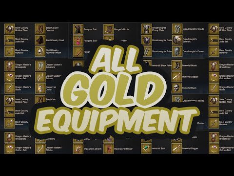 How to Get All GOLD EQUIPMENT – (INSANE TRICK) RISE OF EMPIRE GUIDES