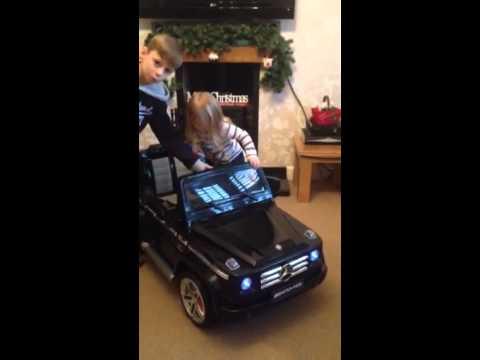 Mercedes-Benz G55 AMG 12v Kids Ride On Car