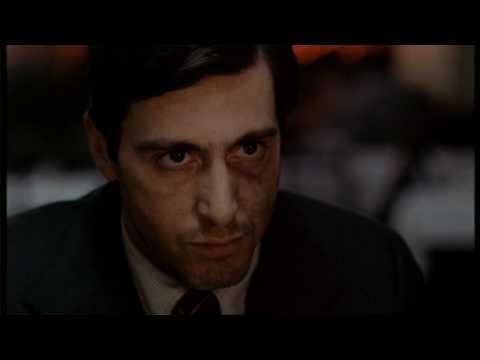 The Godfather : Michael shoots Sollozzo