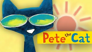 PETE THE CAT & His Magic Sunglasses | Book Trailer | The Sun is Shining!