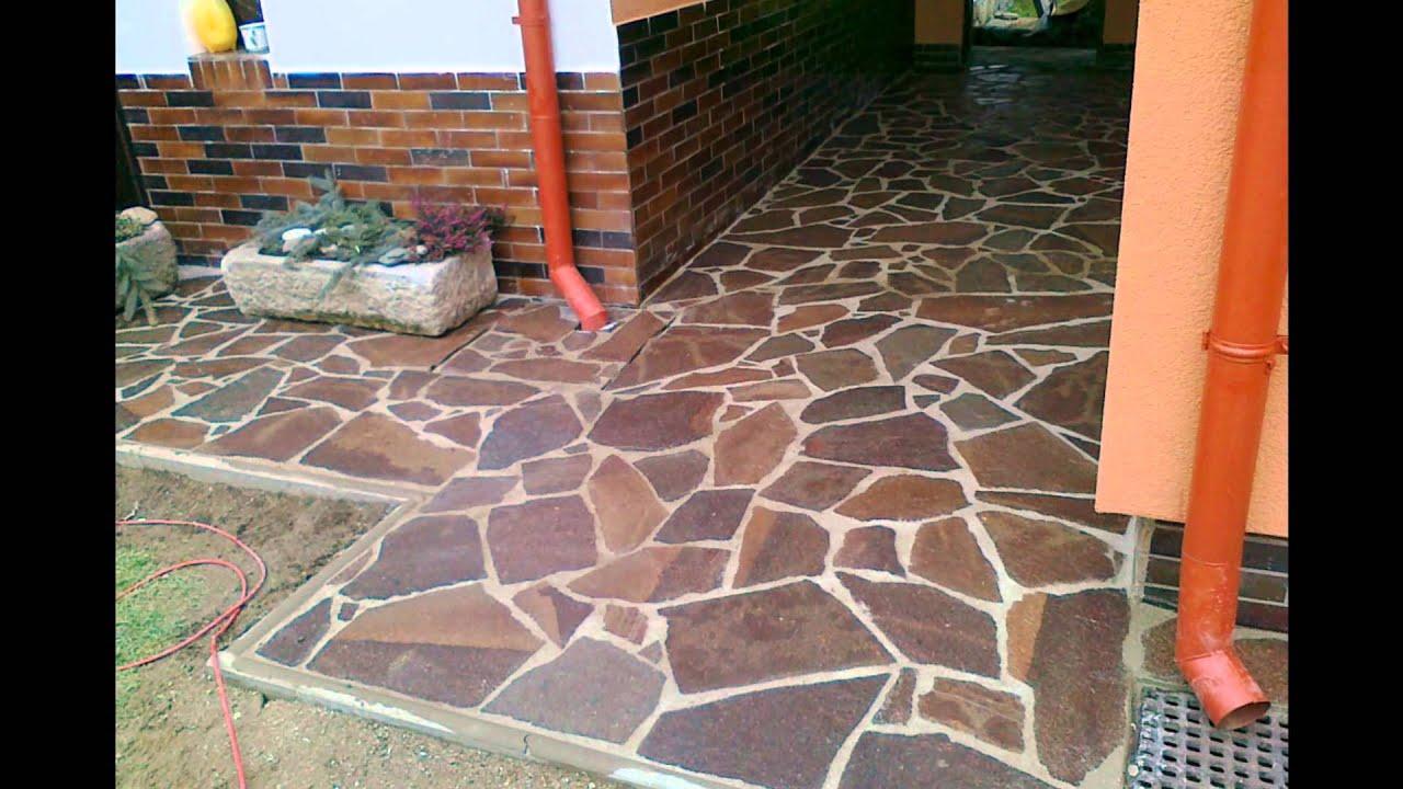 Acosta construcciones youtube for Azulejos de patio