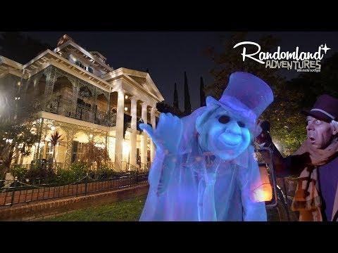 Haunted Mansion Ride Through (Narrated) and Dark Ride quickies at Disneyland