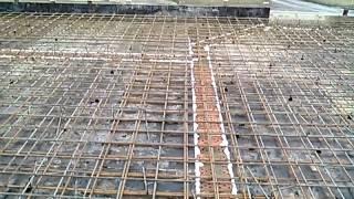 армирование плиты перекрытия частного дома(армирование плиты перекрытия и лестницы частного дома., 2015-01-16T17:35:12.000Z)