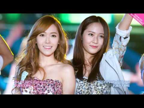 【英中字幕】Jessica @ 少女時代 SNSD & Krytsal @ F(x) - 'Tik Tok'