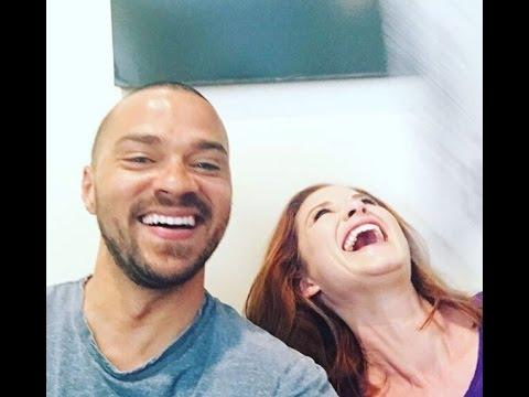 Grey's Anatomy's Jesse Williams & Sarah Drew Answer  on Facebook