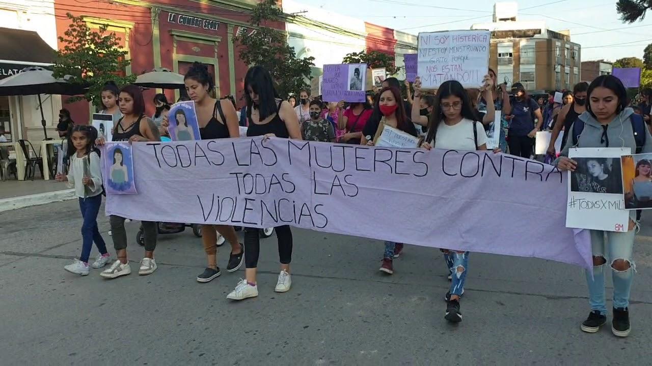 En el Dia de la Mujer marchamos por Mili. #Justicia