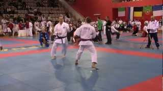 JKA European Championship 2012 Prague - Rök (Slovenia) vs Larsen (Norway).MTS