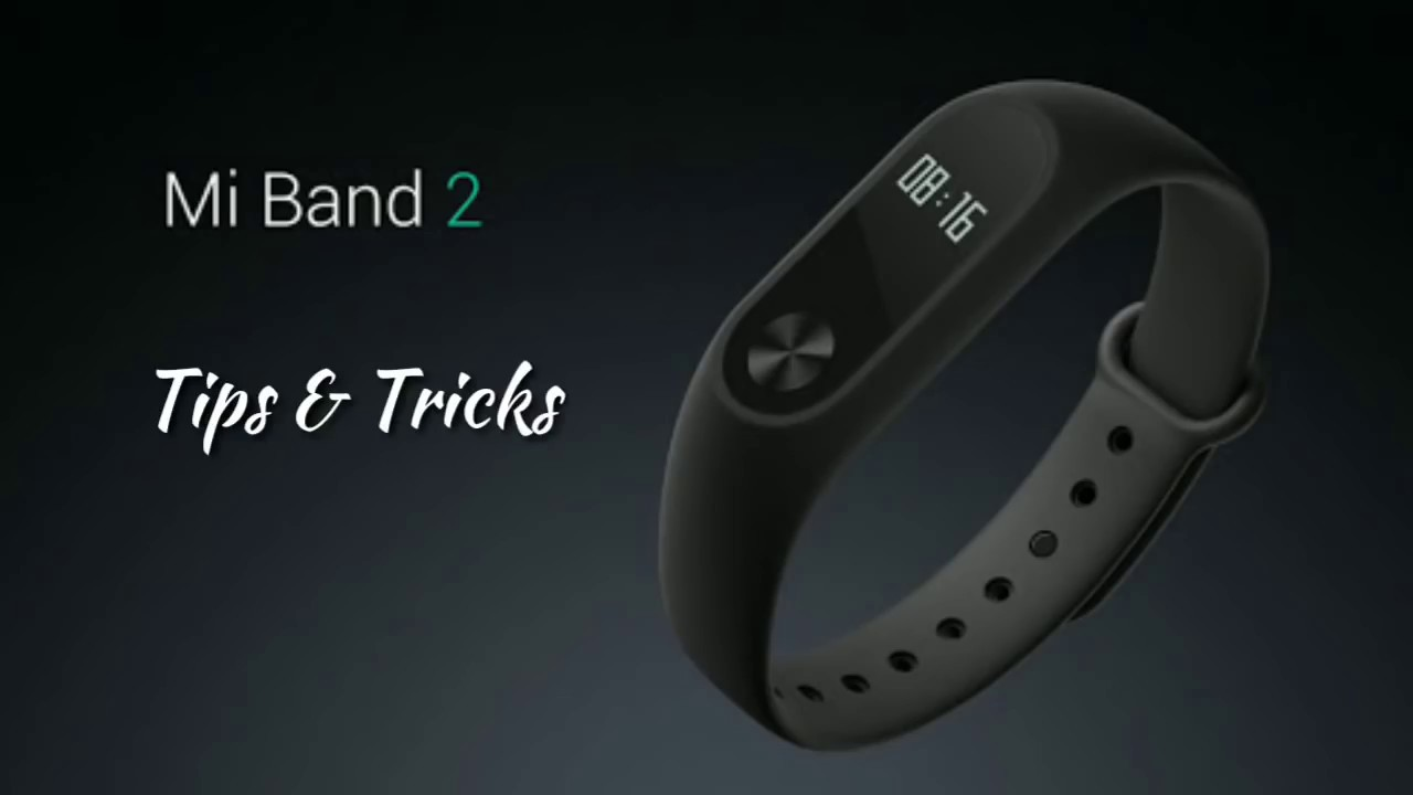 Mi Band 2 (Tips and tricks using the function button)