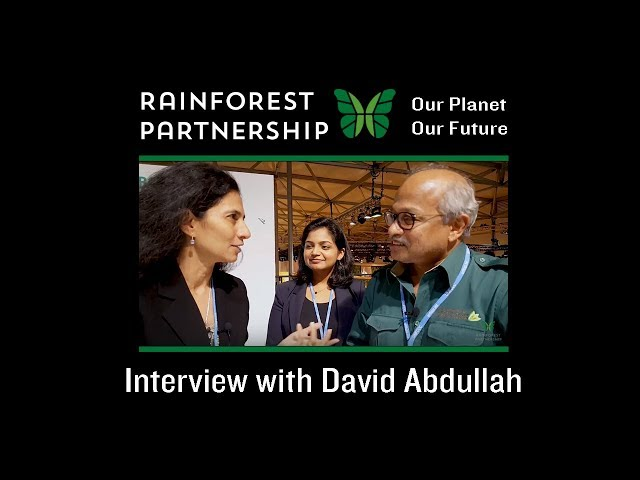 Our Planet. Our Future. - Interview with David Abdullah at COP23 Bonn, Germany