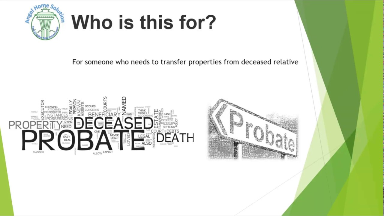 Probate General Process from Start to Finish