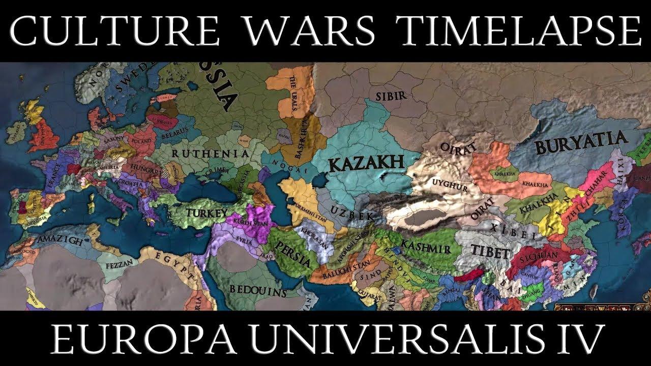 EU4: Culture Wars Mod Timelapse