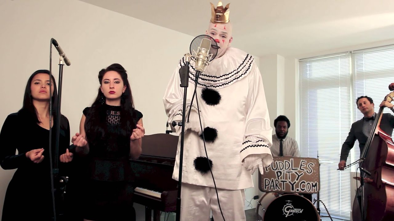 Royals - ( Sad Clown With The Golden Voice ) - Postmodern Jukebox Lorde Cover ft. Puddles Pity Party - YouTube  sc 1 st  YouTube & Royals - (