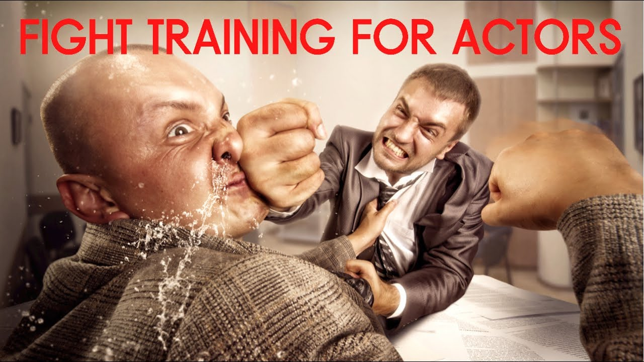 Fight Training For Intermediate Acting Batch at Lets Act, Mumbai