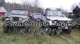 Kulokallion Safari 2.11.2019