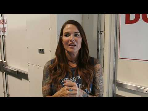(Part 1) WWE HOF Lita Interview at Florida Supercon in Fort Lauderdale july 2017