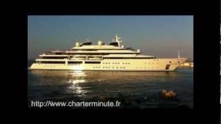 World biggest superyachts: Lurssen Katara in Antibes Port Vauban
