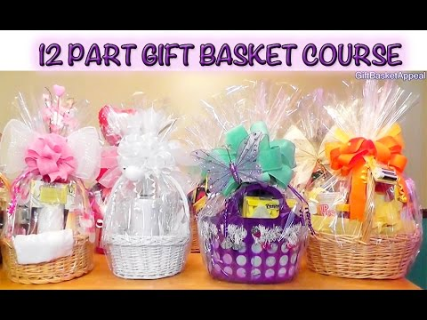 12-Part Gift Basket Course - GiftBasketAppeal