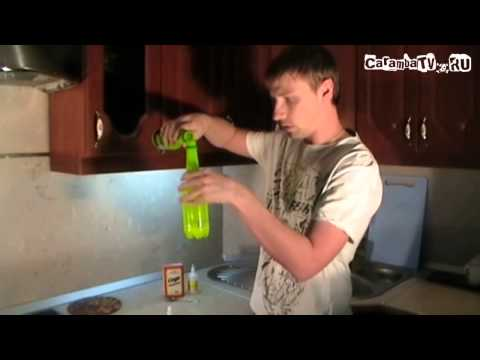 Фонарик из бутылки. Круто!)) - видео онлайн
