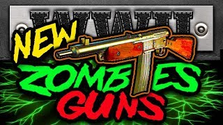 NEW Zombie Weapons EARLY GAMEPLAY All PAP Names WW2 DLC 1