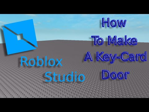 Piggy Roblox Key Card Roblox Studio How To Make A Key Card Door Make A Piggy Game Part 1 2020 Youtube