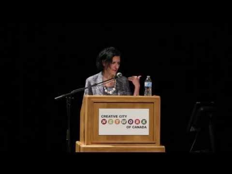 Creative City Summit 2013, Ottawa, ON - Keynote Speaker, Dr. Sara Diamond