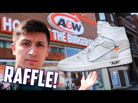 san francisco 8ff95 27594 OFF-WHITE AIR JORDAN RAFFLE HUNTING! (Best Odds EVER!)