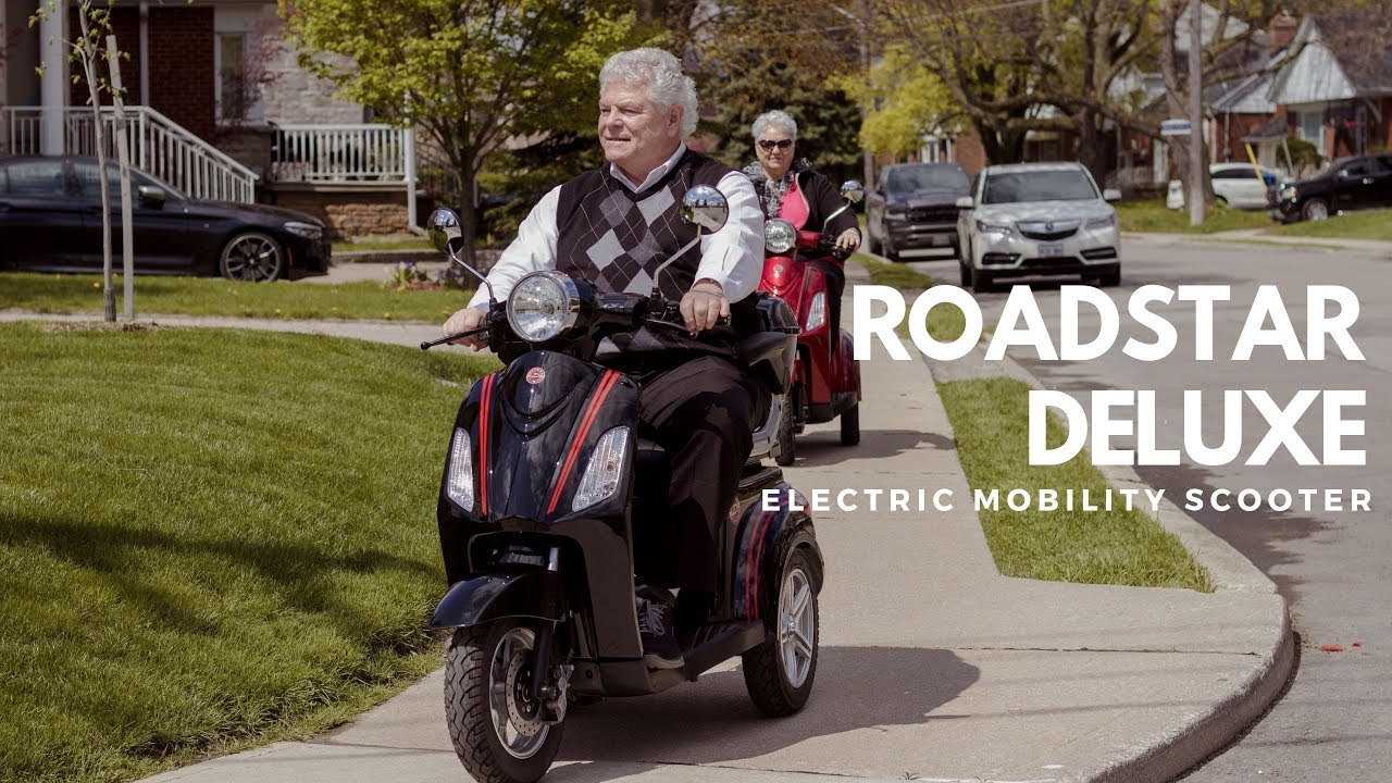Daymak Roadstar Deluxe | Electric Mobility Scooter