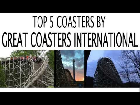 Top 5 Roller Coasters By Great Coasters International (GCI)